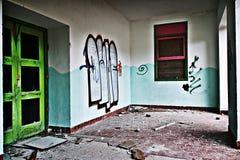 opuszczony budynek Obrazy Stock