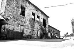 opuszczony budynek Zdjęcie Stock
