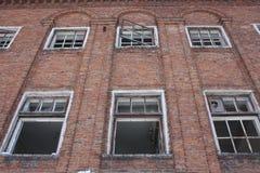 opuszczony budynek Fotografia dla twój projekta Zdjęcia Stock