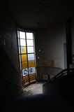 opuszczony budynek okno obraz royalty free