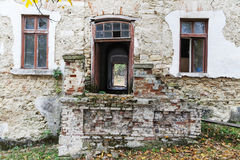 opuszczony dom Obrazy Stock