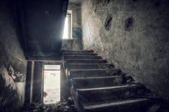 opuszczony dom Obrazy Royalty Free