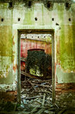 opuszczony dom Drzwi Zdjęcia Stock