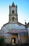 opuszczony kościoła zdjęcie stock