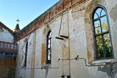 opuszczony kościoła fotografia royalty free