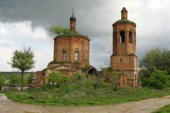 opuszczony kościoła Obraz Royalty Free