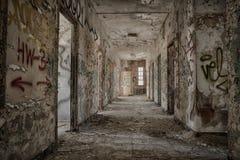 opuszczony korytarza Zdjęcia Stock