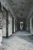 opuszczony korytarza Obraz Royalty Free