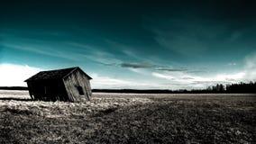 opuszczony nawiedzony dom Fotografia Royalty Free