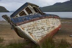opuszczony połowowych łodzi Obrazy Stock
