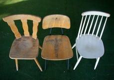opuszczony rocznik krzesło Fotografia Stock