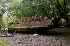 opuszczony statku Zdjęcia Royalty Free