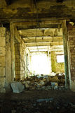 opuszczony stodole krowy śmieci Zdjęcie Stock