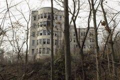 opuszczony szpital Zdjęcia Stock