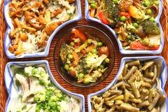 Opzioni per le insalate Fotografia Stock Libera da Diritti