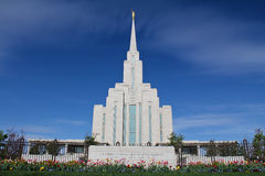 Oquirrh Mountain Mormon Temple Stock Photos