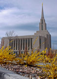 Oquirrh Mountain Temple Stock Image