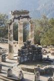 Oráculo Grecia de Delphi Imagenes de archivo