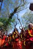 Oráculos del templo la India Foto de archivo
