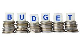 Orçamento foto de stock