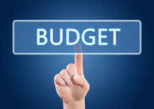 orçamento imagens de stock