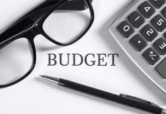 orçamento imagens de stock royalty free