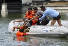 ORÇAMENTO DA GESTÃO DE DESASTRES DE INDONÉSIA Imagens de Stock