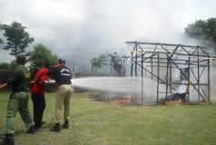 ORÇAMENTO DA GESTÃO DE DESASTRES DE INDONÉSIA Imagem de Stock