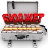 Orçamento limitado ilustração royalty free