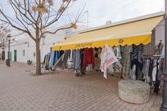 Orígenes de la tienda de la moda imagen de archivo libre de regalías