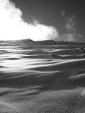 orörd snow Fotografering för Bildbyråer