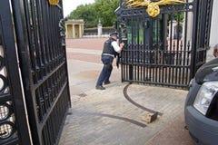Orężna bramy ochrona Zdjęcia Royalty Free