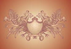 orły grzebieni Zdjęcia Royalty Free