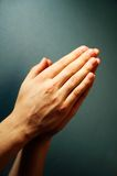 Oração Imagem de Stock