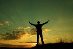 A oração Imagens de Stock Royalty Free