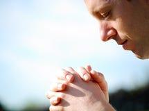 Oração fotos de stock
