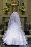 Oração católica do comunhão Imagem de Stock Royalty Free