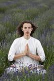 Oração da alfazema Fotografia de Stock