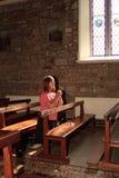 Oração da igreja. Imagens de Stock Royalty Free