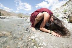 Oração da terra Foto de Stock