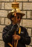 Oração em tibet fotografia de stock