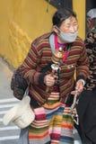 Oração em tibet fotos de stock royalty free