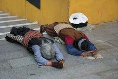 Oração em tibet imagem de stock