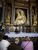 Oração em Vilnius Foto de Stock Royalty Free