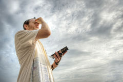 Oração judaica Imagens de Stock Royalty Free