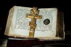 Oração-livro Foto de Stock Royalty Free