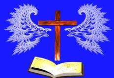 A oração tem as asas ilustração royalty free