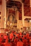 Orações à Buda Fotografia de Stock