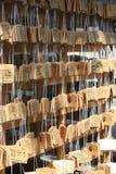 Orações budistas imagens de stock royalty free