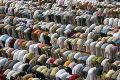 Orações islâmicas Fotos de Stock